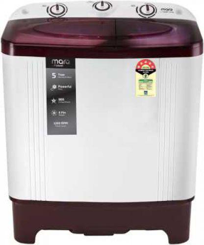 MarQ by Flipkart 6 kg 5 Star Rating Semi Automatic Top Load Washing machine