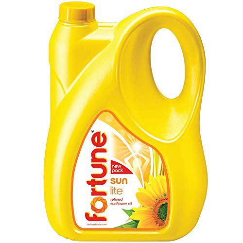 Fortune Sunlite Refined Sunflower Oil, 5L