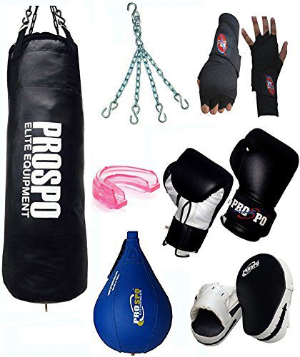 Prospo Strong and Rough Punching 36(inch) with Full kit (Heavy Bag)