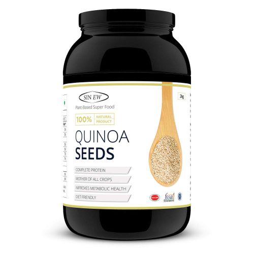 Sinew Nutrition Gluten Free White Quinoa Seeds, 2 kg