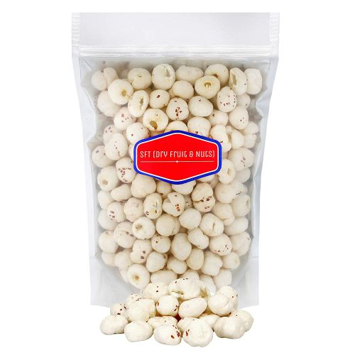 SFT Lotus Seed Pop / Gorgon Nut Puffed Kernels (Phool Makhana) Fox Nut Organic (Grade - Big Size) 500Gm