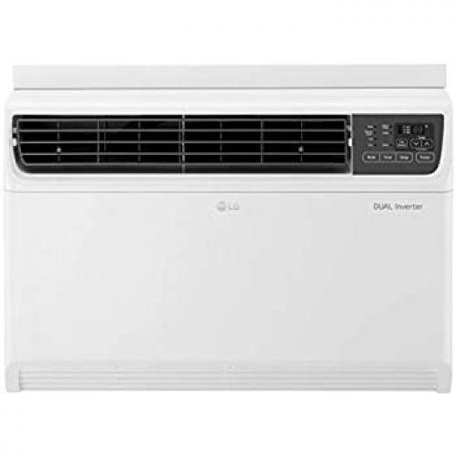 LG 1.5 Ton 3 Star Inverter Window AC (Copper, JW-Q18WUXA1, White, Top Air Discharge)