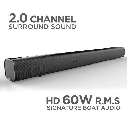 boAt AAVANTE BAR 1160 60W Bluetooth Soundbar with 2.0 Channel...