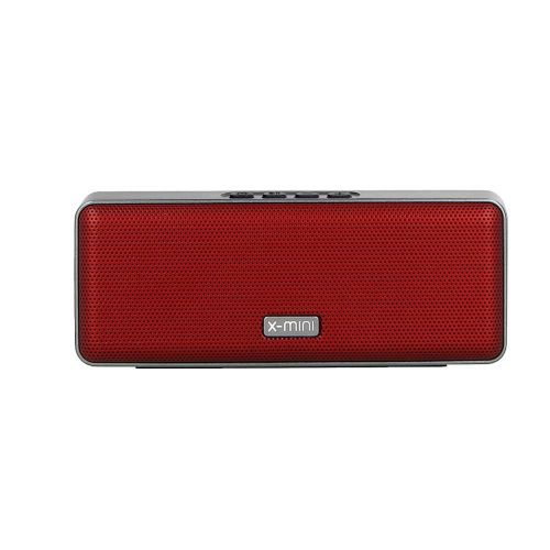 X-mini Xoundbar IPX4 Splash-Proof Portable Wireless Bluetooth Stereo Speaker with Dual Drivers, Built-in Mic and TWS Function