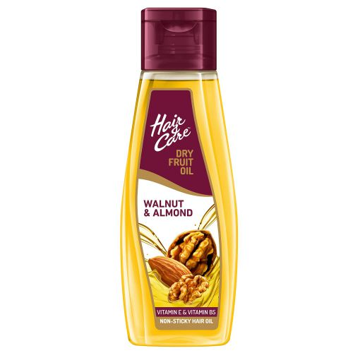 Hair & Care Dry Fruit Oil With Walnut & Almond (Non-Sticky Hair Oil), 300 ml