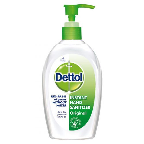 Dettol Alcohol-based Hand sanitizer, Original, 200ml