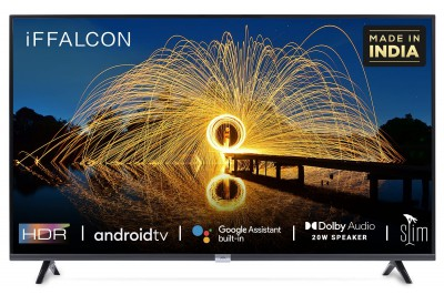 iFFALCON by TCL 79.97cm (32 inches) HD Ready LED Smart Android TV with Google assistant tv HDR 10 and Dolby Audio (32F2A)