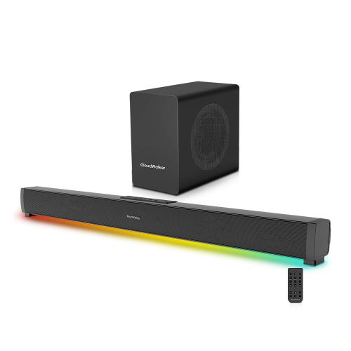CloudWalker BÜRST E3000 100W 2.1 Channel Bluetooth 5.0 Soundbar with Subwoofer & LED Lights