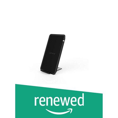 (Renewed) Lenovo HC21 Fast Wireless Charger (Black)