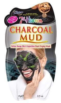 Montagne Jeunesse Charcoal Mud Mask, Black, 15 g