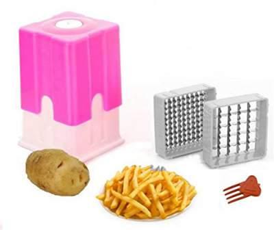 VR Plastic, Stainless Steel Potato, Carrot Slicer