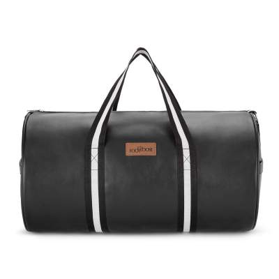 Footloose Stylish Synthetic 47 cms Black Travel Duffle