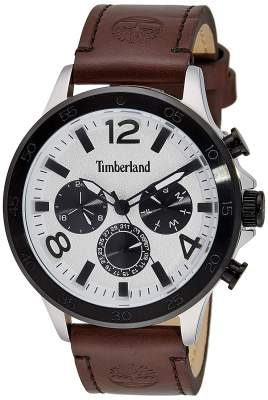 Timberland Analog White Dial Men's Watch-TBL.15310...
