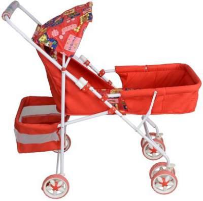 KIDS PRAM ZONE PRAM Stroller  (2, Red)...