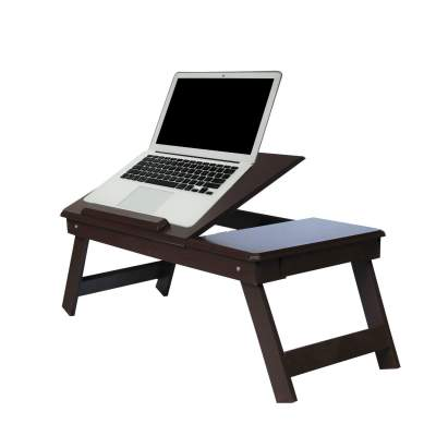 Andride Brown Laptop Table with Drawer...