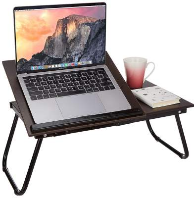 Amazon Brand - Solimo Rover Multi-purpose Laptop Table (Wenge)