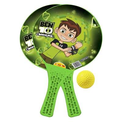 Toyzone Ben10 Kids Indoor and Outdoor Toy Racket Set