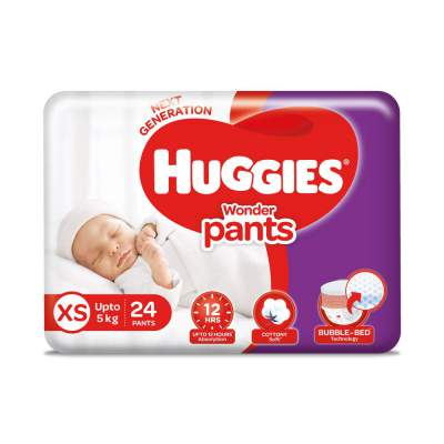 Huggies Wonder Pants, Extra Small (XS) Size Diapers, 24 Count...