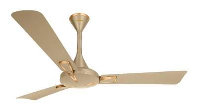 Luminous Deco Premium Trigon 1200mm Ceiling Fan (Sandstrom Gold)