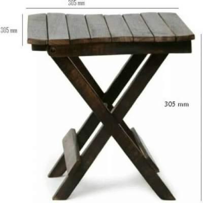 Aafiya handicrafts Solid Wood Side Table