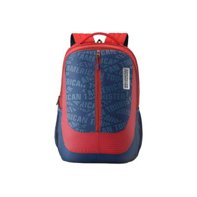 American Tourister Twing 47 cms Red Casual Backpack (FD0 (0) 00 003)