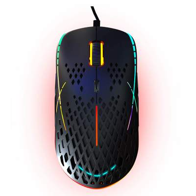 Cosmic Byte Zero-G Lightweight RGB 12400 DPI Gaming Mouse with PIXART 3327 Sensor, Ascended Cord, Software