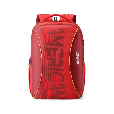 American Tourister Twing 46 cms Red Casual Backpack