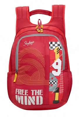 Skybags Komet 04 21 Ltrs Red Laptop Backpack (Komet 04)