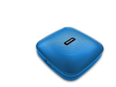 Philips BT2505A Wireless Portable Speaker with 7W,...