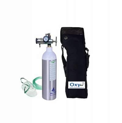 OxyKit Portable Ultra Light Medical Oxygen Cylinde...