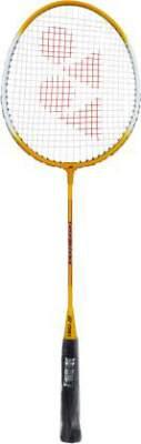 YONEX GR 303 F Yellow Strung Badminton Racquet  (P...