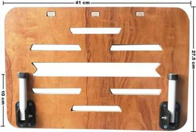 LINGAZ Cooling Pad-01 Wood Portable Laptop Table  ...