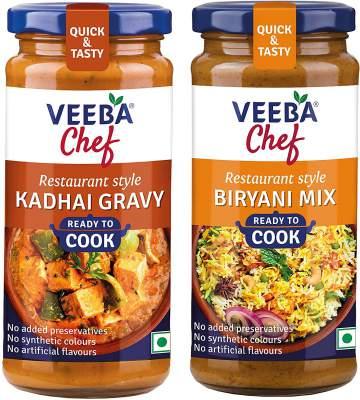 Veeba Chef Ready to Cook - Kadhai Gravy, 250 g & B...