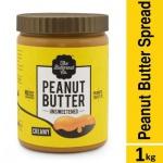 The Butternut Co. Peanut Butter Unsweetened Creamy Jar, 1 kg...