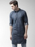 Style Quotient Men Printed Pathani Kurta...