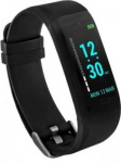 GOQii Vital (Black Strap, Size: Regular)...