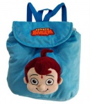 Chhota Bheem 3D Face Plush Bag - Blue...