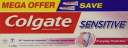 Colgate Sensitive Everyday Protection Anticavity Toothpaste - 160gm (Twin Pack)