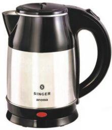 Singer Aroma(SKT 180 ASE) Electric Kettle  (1.8 L, Silver, Black)