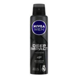 NIVEA MEN Deodorant, Deep Impact Freshness