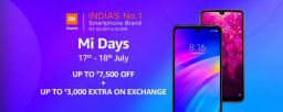 Mi Offers Days - Heavy Discount