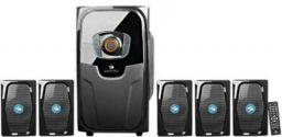 Zebronics ZEB-POLO 75 W Bluetooth Home Audio Speaker  (Black, Grey, 5.1 Channel)