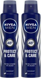 Nivea Protect & Care Deodorant Spray - For Women  (300 ml, Pack of 2)