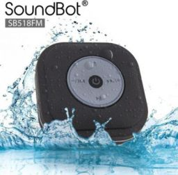 SoundBot SB518 FM Shower Bluetooth Speaker