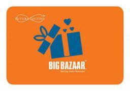 Big Bazaar Rs.1000 Gift Card