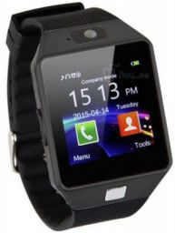 HEALTHIN HIN02-BK phone Black Smartwatch