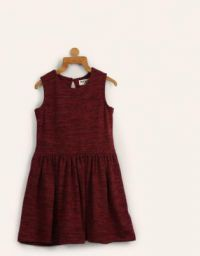 Miss & Chief Girls Midi/Knee Length Casual Dress