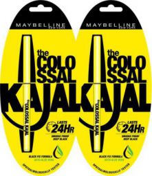 Maybelline colossal kajal(01 black,0.7g)
