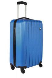 Nasher Miles Zurich Polycarbonate Hard-Side Cabin Luggage Blue 20 Inch /55CM Trolley Bag