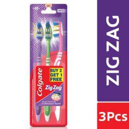 Colgate ZigZag Toothbrush - Soft (Buy 2 Get 1)